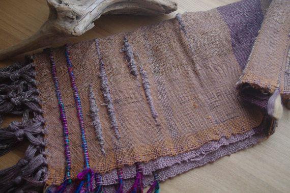handwoven silk  table cloth by gakumoandoseera on Etsy