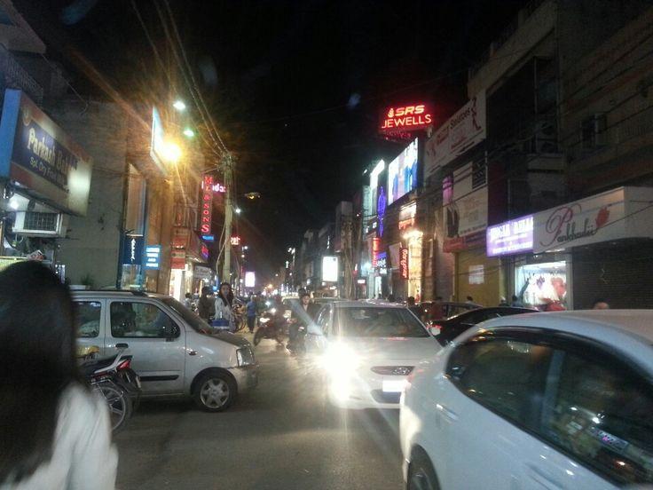 Main Market Rajouri Garden in New Delhi, Delhi