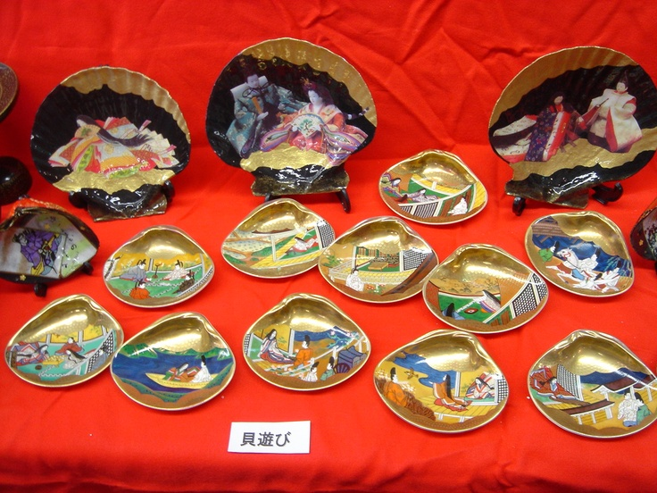 shell-matching game popular with court aristocrats during the Heian period