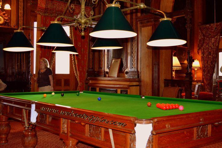 Hyderabad - Taj Falaknuma Palace Billiard Room