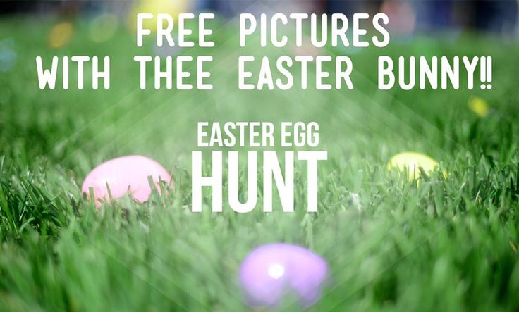 Free Pictures with The Easter Bunny!  Sat April 8~11 AM   Grace Family Church  The Easter bunny is coming to Grace Family Church in Roanoke, Virginia on Saturday, April 8th. This event is completely FREE and open to the public. Bring the whole family for a safe, exciting, family friendly event!