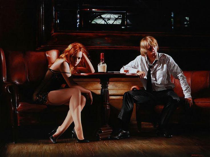 D.W.C. Wonderful Woman - Painter Alexander Sheversky | DANCES WITH COLORS