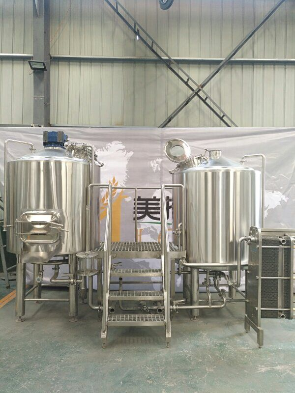 5bbl 2 vessel brewhouse nice designed and good look! For Canada