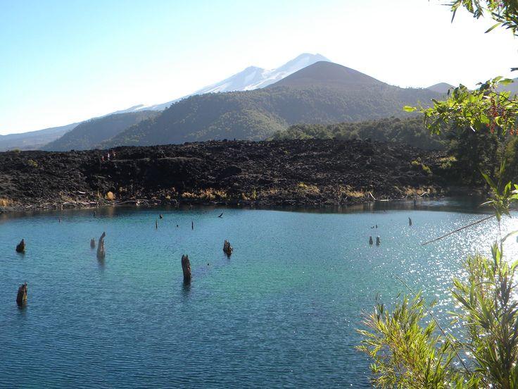 Laguna Arco Iris, Parque Nacional Conguillío, Chile
