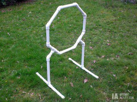DIY octagon jump. ***Cost me around 15 bucks to build it