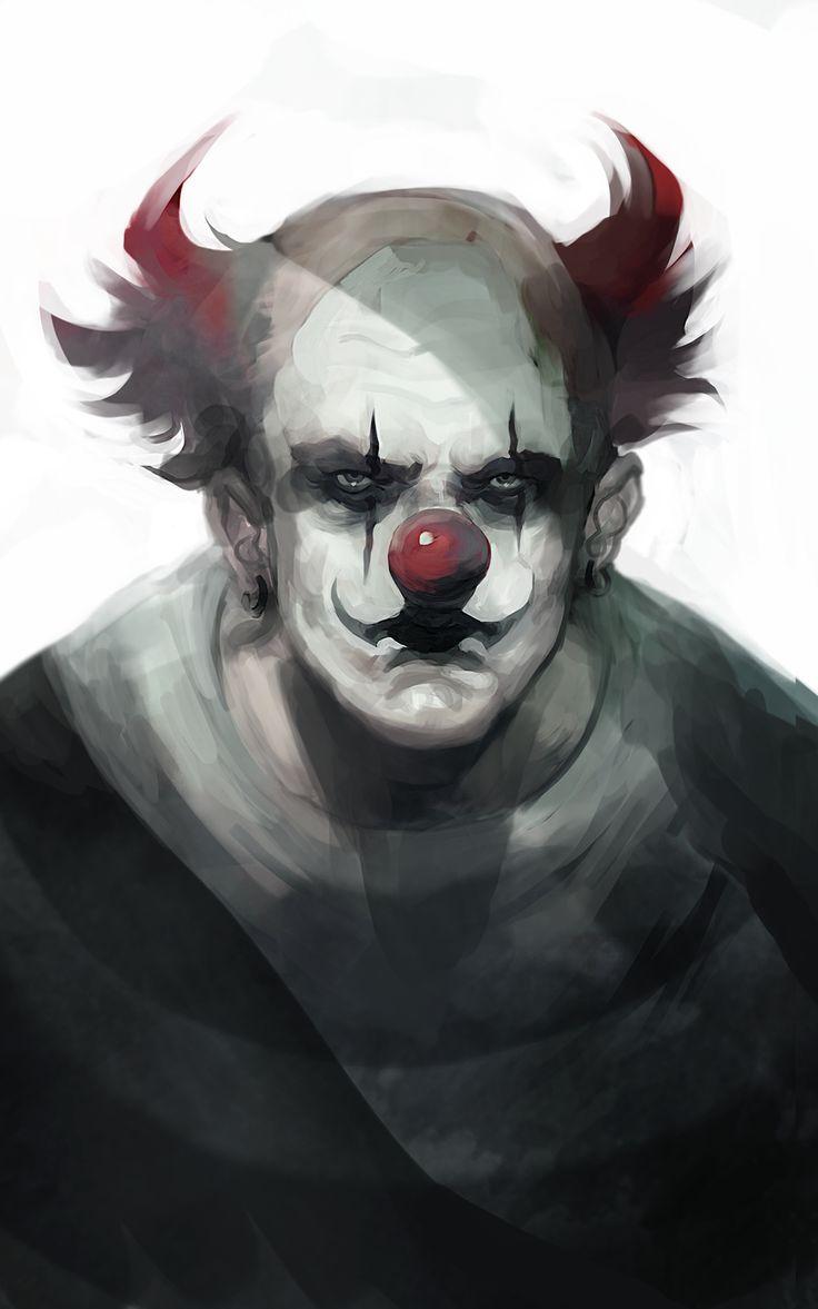 Vintage carnival ride www imgarcade com online image arcade - Nice Clown By Znodden