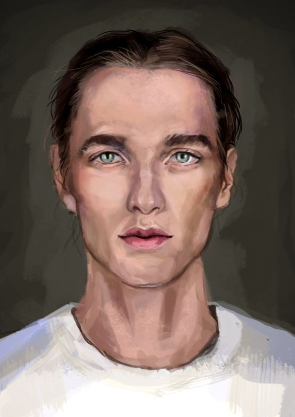 first try in photoshop portrait challenge