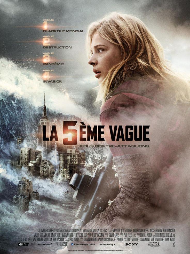 En VOD - La 5e Vague réalisé par J. Blakeson, adapté du roman de Rick Yancey édité en France dans la Collection R.
