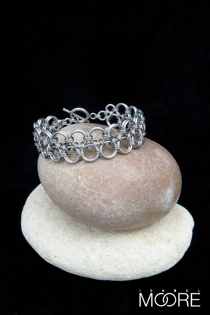 Orient Duo Bracelet handmade from Stainless Steel http://isabelmoore.com/products/orient-duo-bracelet