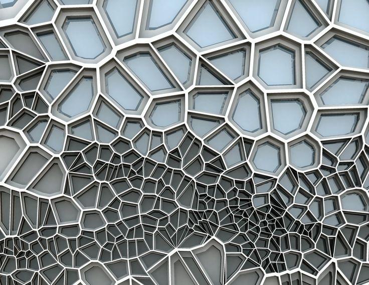 Architecture lab parametric design geometrics lines for Professional window treatment patterns