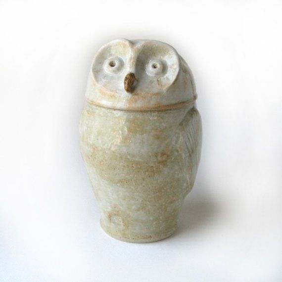 Barn Owl Kitchen Canister
