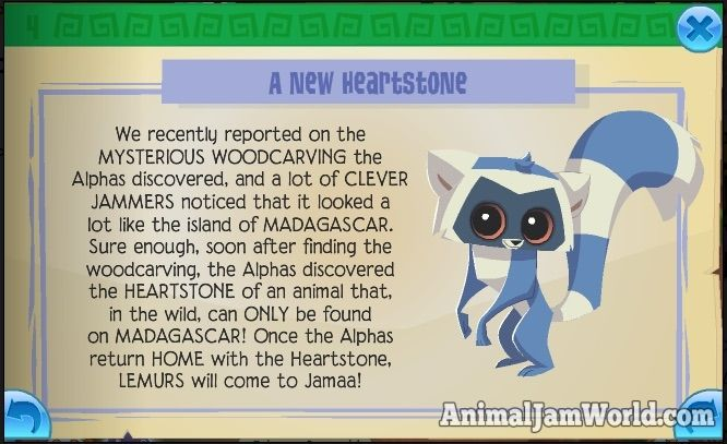 Lemurs are Coming & Sir Gilbert's Palace animal-jam-lemurs-coming  #AnimalJam #News http://www.animaljamworld.com/lemurs-coming-sir-gilberts-palace/