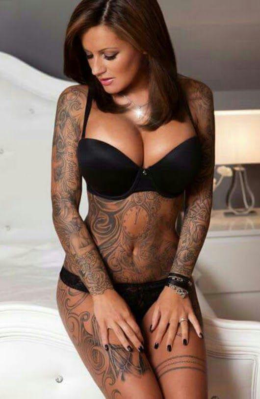 Xxx women tattoos, topless brunettes camping