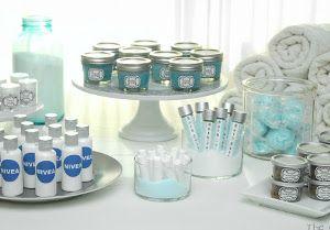Rejuvenate and Relax DIY Spa Day Bridal Shower | AllFreeDIYWeddings.com