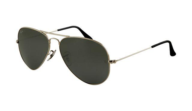 Ray Ban RB3025 Aviator Sunglasses Gunmetal Frame Deep Green Pola Ray Ban