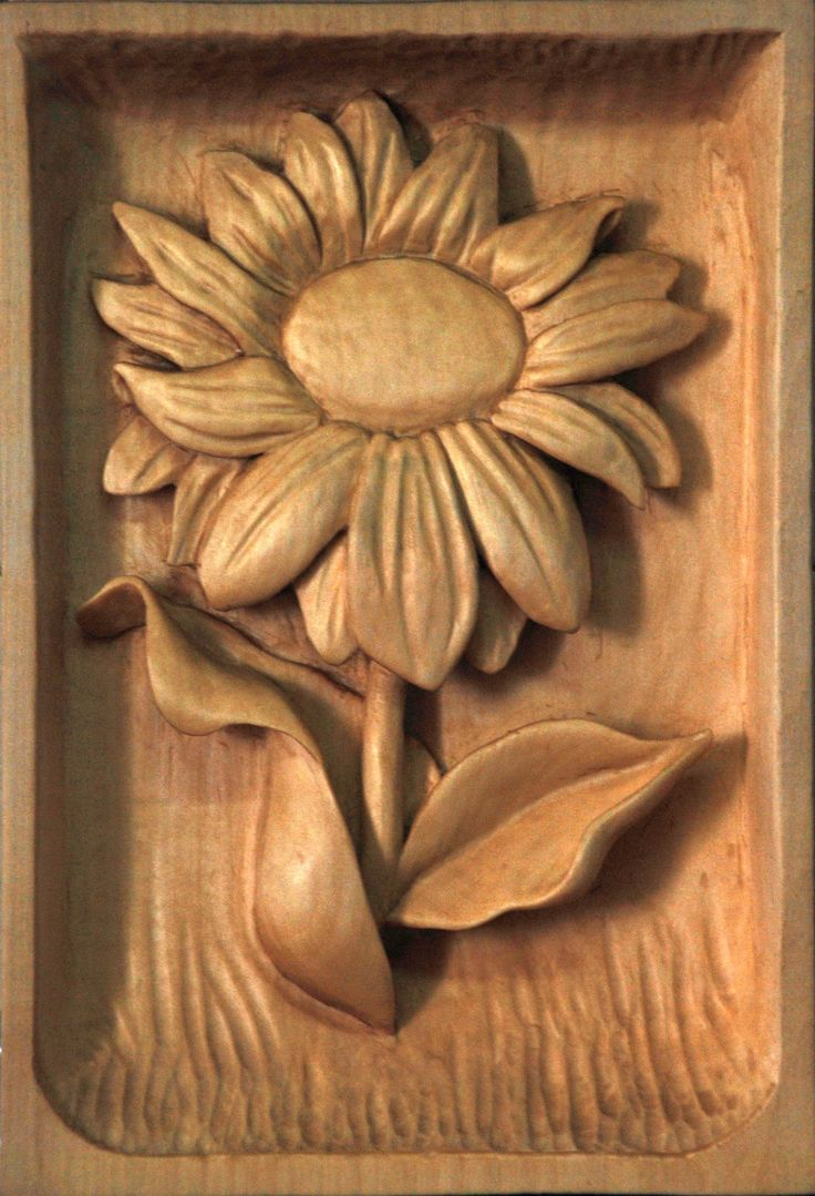 201 Best Carved Flowers Images Wood Carvings