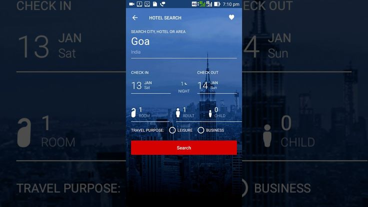 HOW TO BOOK HOTEL ONLINE USING MAKE MY TRIP ANDROID APP