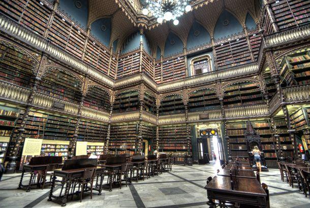 ハリーポッターとかファイナルファンタジーに出てきそうな、リオデジャネイロの「幻想図書館」に行って来ました   roomie(ルーミー)