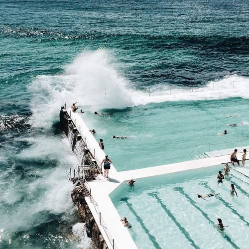 Icebergs, Bondi Beach, Australia #fabulous #travel