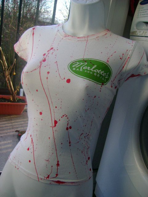 true blood SOOKIE STACKHOUSE costume blood by ZombieBrideuk, $25.00