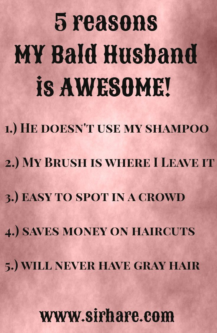 Behindthechair com quotes - Love This And I Love My Bald Husband So Sexy 5 Reasons