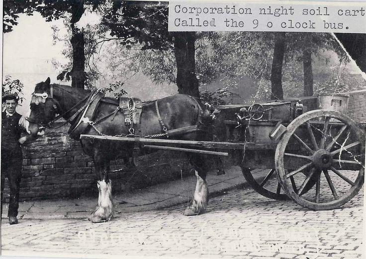 Rawtenstall Corporation night soil bus called the 9 o'clock bus