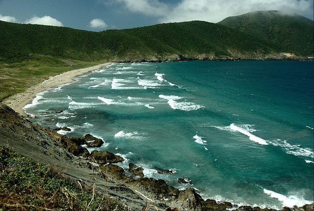 Seven waves beach, Colombia