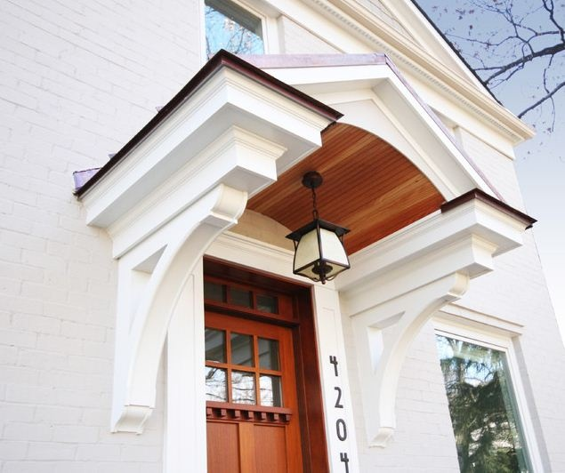 Entryway Gable Brackets Front Porch Pinterest Entryway