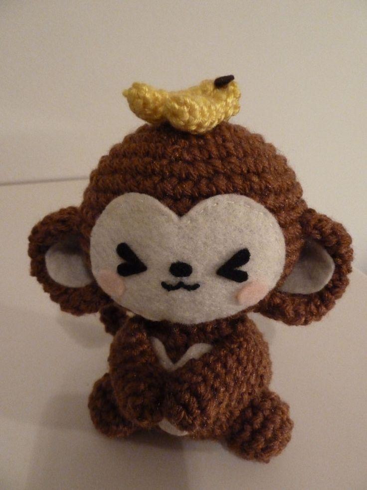 Amigurumi Patterns Monkey : Too freakin cute amigurumi monkeys knits to do