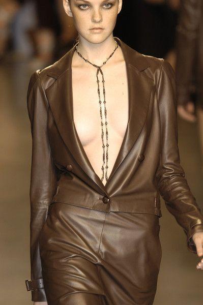 brown runway leather ♥✤