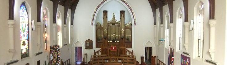 Dulwich Rose Park United Parish Interior