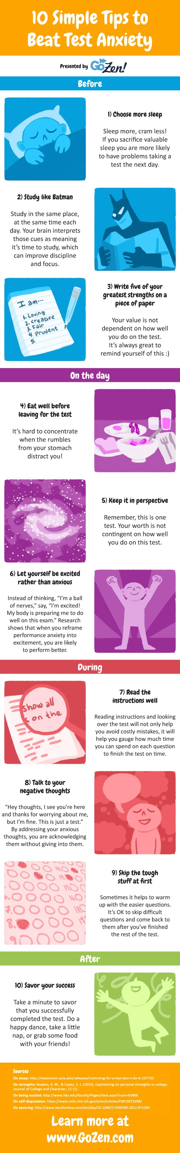 Have the jitteries before your upcoming test? Here are some simple research-based techniques you can use to calm test anxiety. You can also grab the free poster at the bottom of the post!    //      Download the poster FREE – Click Here!   Have...