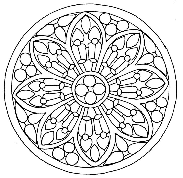gotická vitráž