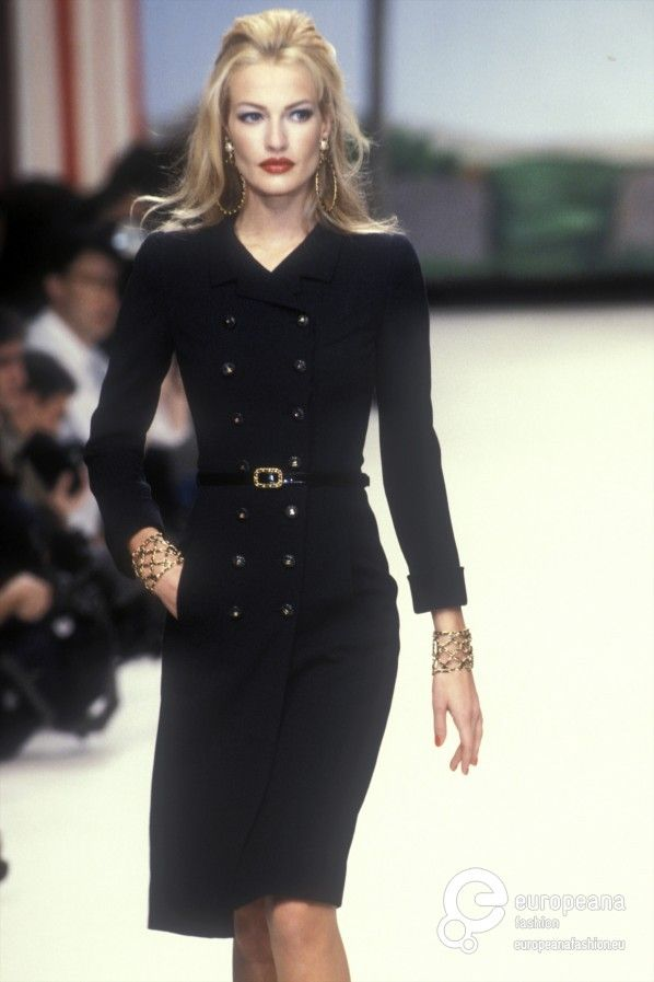 """ Chanel (1995) Model: Karen Mulder """