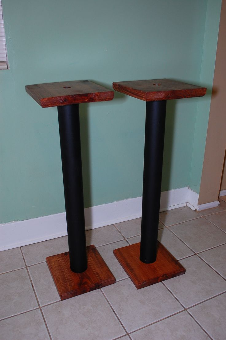 DIY speaker stands ideas, wood, ikea, home, projects, pipe, living rooms, TVs, products, side tables, etsy and entertainment center