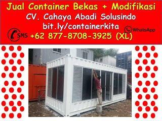 Container bekas Surabaya 0877-8708-3925   +62 877-8708-3925 (XL), Jual Container Modifikasi   Jasa Pembuatan Kontainer Bekas dan Custom
