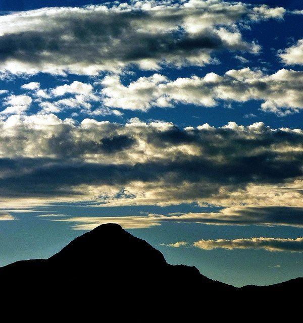 Strawberry Peak, Socorro, New...