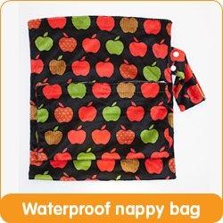 Gotta love the Cushie Tushie Wet bag - Toffee Apple - $27