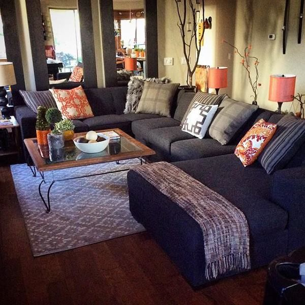 These Living Spaces Fans Are Loving The Costello 3 Piece Sofa Sectional In  Their Home. Living Room SectionalCozy Living RoomsSectional ...