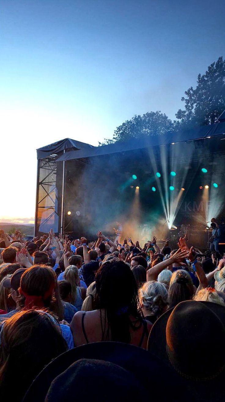 A beautiful sunset at the Slottsfjell festival in Tønsberg, Norway!