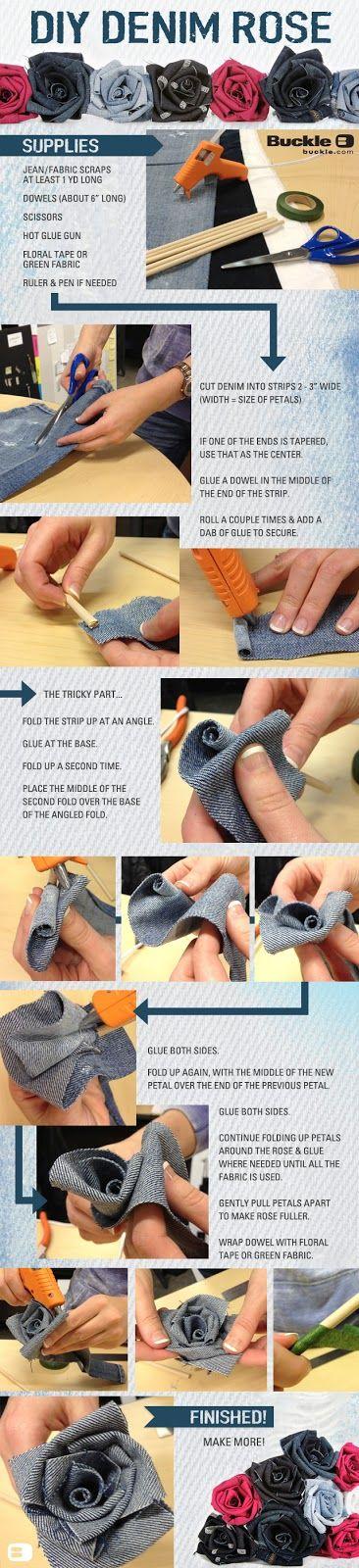 Threads: DIY: Denim Rose