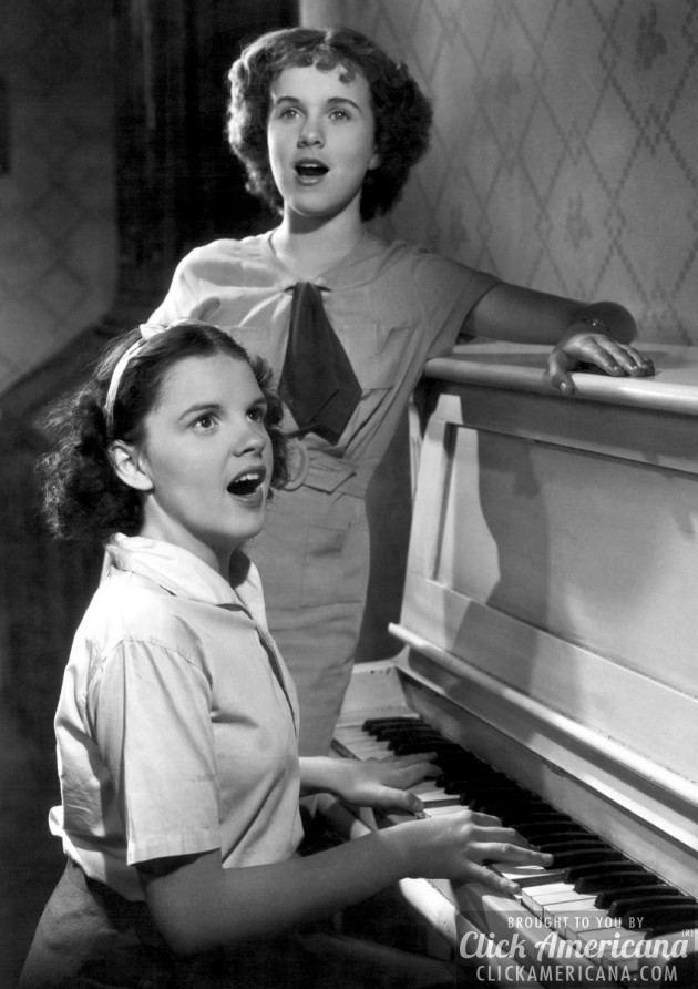 Judy Garland and Deanna Durbin Every Sunday