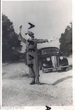 WW2 ATS Auxiliary Territorial Service FANY ? Traffic Control / Police Duties