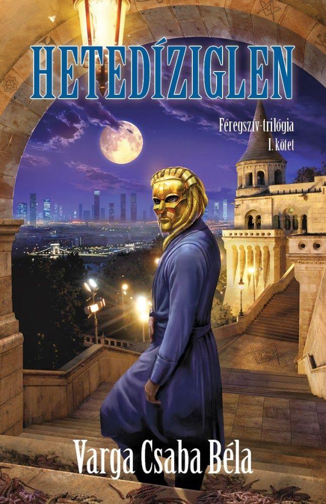 Varga Csaba Béla | Hetedíziglen | hungarian cover | #book #cover #vargacsababela #scifi