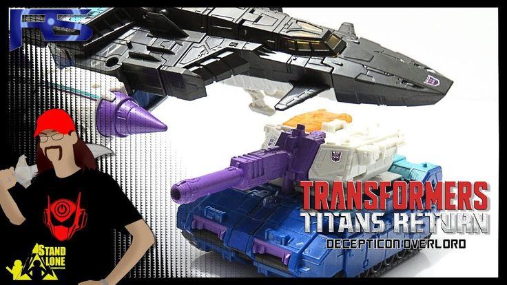 Decepticon Overlord & Dreadnaut (Transformers Titans Return) Leader Toy ...