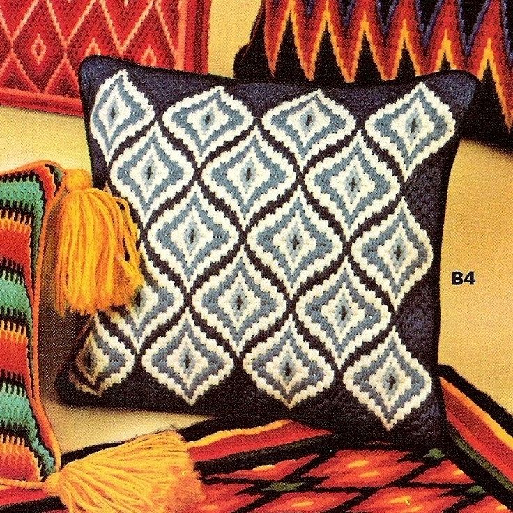 Patrones de bordado Bargello por Margaret Boyles por StitchySpot
