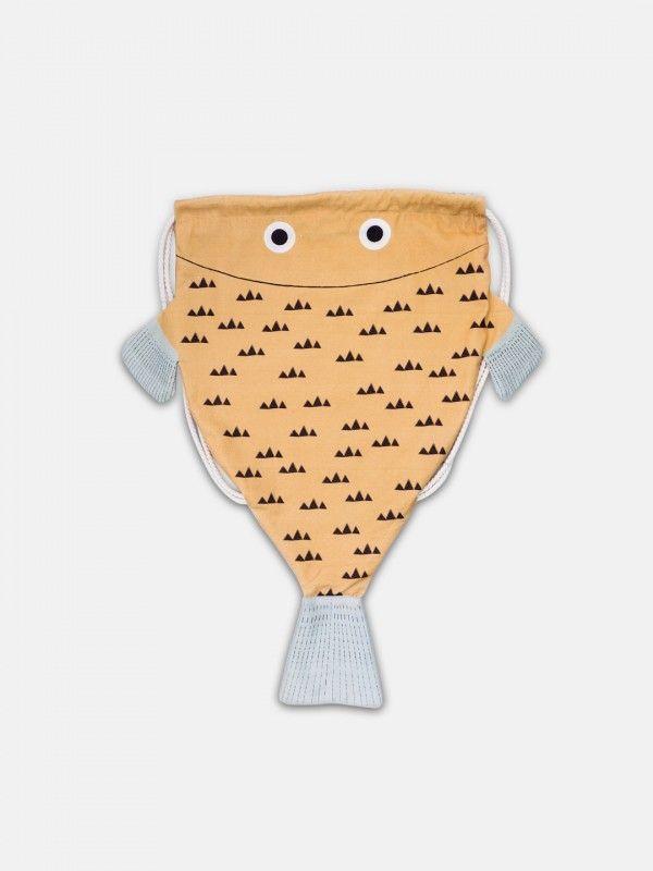 Don Fisher – Mustard Monkfish Backpack