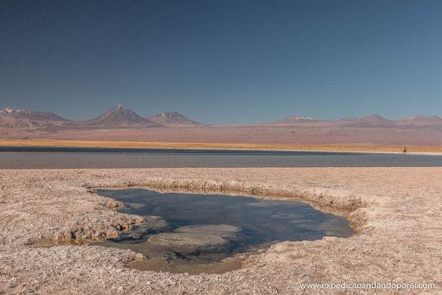 Laguna Cejas em San Pedro de Atacama