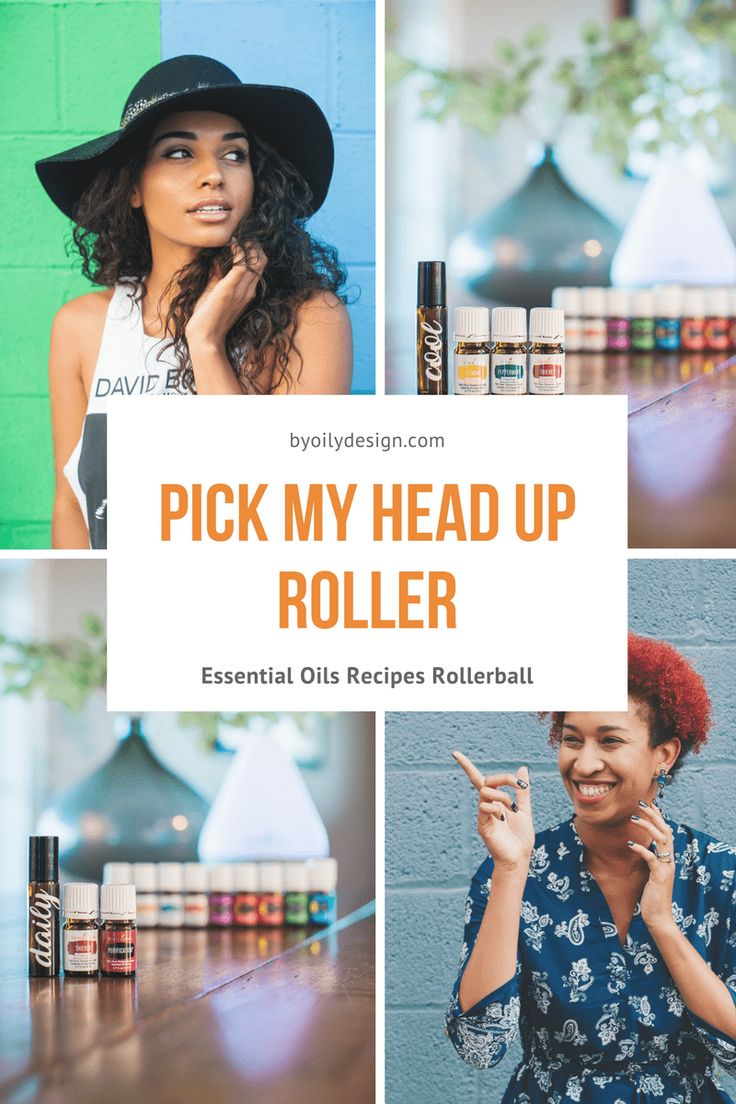Try this DIY Essential Oil for beginners pick my head up roller using Peppermint, panaway and lavender. Great for those days when you head just feels out of sorts. Apply to forehead and neck. All Young living starter kit oils. byoilydesign.com YL member # 3177383