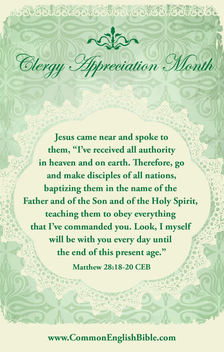 + images about Pastor Appreciation on Pinterest   Pastor appreciation ...